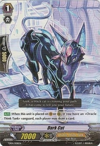 Cardfight Vanguard ENGLISH Extra Booster: Celestial Valkyries Single Card Common EB05/023 Dark Cat