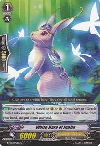 Cardfight Vanguard ENGLISH Extra Booster: Celestial Valkyries Single Card Common EB05/024 White Hare of Inaba