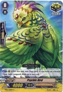 Cardfight Vanguard ENGLISH Extra Booster: Celestial Valkyries Single Card Common EB05/034 Psychic Bird