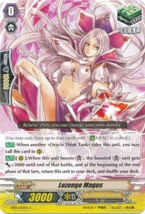 Cardfight Vanguard ENGLISH Extra Booster: Celestial Valkyries Single Card Common EB05/035 Lozenge Magus