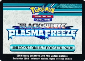 Pokemon Plasma Freeze Promo Code Card for Pokemon TCG Online