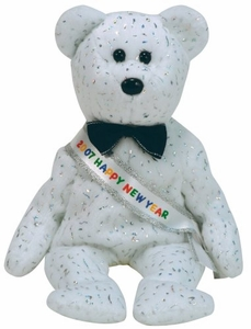 Ty Beanie Baby New Year 2007 the Bear