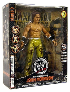 WWE Wrestling MAXIMUM Aggression 12 Inch Series 3 Action Figure John Morrison