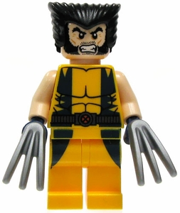 LEGO Marvel Super Heroes LOOSE Complete Mini Figure Wolverine