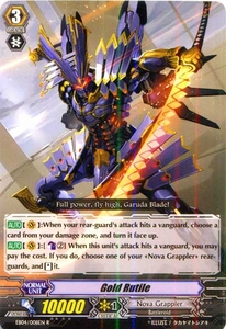 Cardfight Vanguard ENGLISH Extra Booster: Infinite Phantom Legion Single Card Rare EB04/008 Gold Rutile