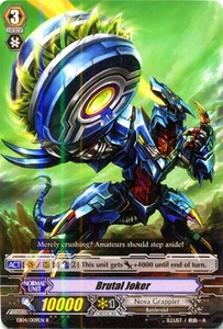 Cardfight Vanguard ENGLISH Extra Booster: Infinite Phantom Legion Single Card Rare EB04/009 Brutal Joker