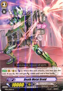Cardfight Vanguard ENGLISH Extra Booster: Infinite Phantom Legion Single Card Rare EB04/010 Death Metal Droid