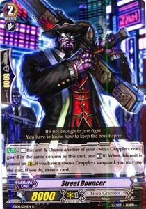 Cardfight Vanguard ENGLISH Extra Booster: Infinite Phantom Legion Single Card Rare EB04/014 Street Bouncer