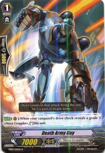 Cardfight Vanguard ENGLISH Extra Booster: Infinite Phantom Legion Single Card Rare EB04/015 Death Army Guy