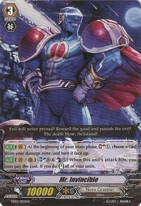 Cardfight Vanguard ENGLISH Extra Booster: Infinite Phantom Legion Single Card Common EB04/016 Mr. Invincible
