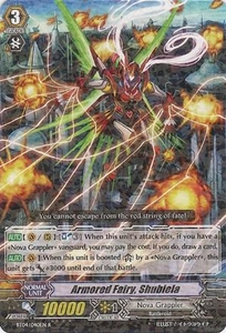 Cardfight Vanguard ENGLISH Extra Booster: Infinite Phantom Legion Single Card Common EB04/017 Armored Fairy, Shubiela