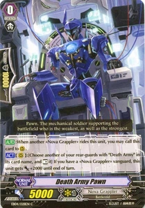 Cardfight Vanguard ENGLISH Extra Booster: Infinite Phantom Legion Single Card Common EB04/028 Death Army Pawn