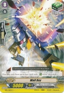 Cardfight Vanguard ENGLISH Extra Booster: Infinite Phantom Legion Single Card Common EB04/032 Wall Boy