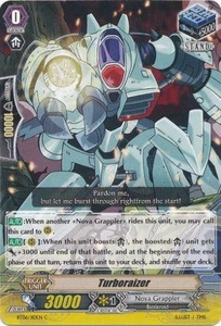 Cardfight Vanguard ENGLISH Extra Booster: Infinite Phantom Legion Single Card Common EB04/034 Turboraizer
