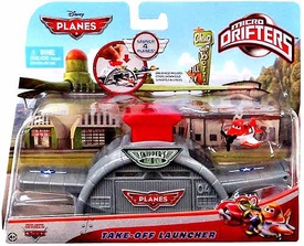 Disney PLANES Micro Drifters Take-Off Launcher [Includes Dusty Micro Drifter]