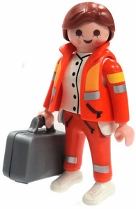 Playmobil Fi?ures Series 4 LOOSE Mini Figure Paramedic
