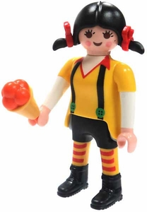 Playmobil Fi?ures Series 4 LOOSE Mini Figure Girl with Braids