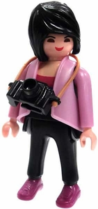 Playmobil Fi?ures Series 4 LOOSE Mini Figure Tourist with Camera