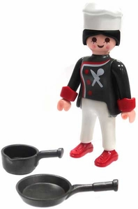 Playmobil Fi?ures Series 4 LOOSE Mini Figure Iron Chef