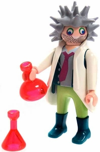 Playmobil Fi?ures Series 4 LOOSE Mini Figure Mad Scientist