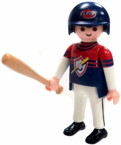 Playmobil Fi?ures Series 4 LOOSE Mini Figure Baseball Player