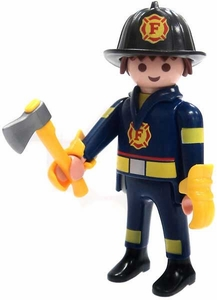 Playmobil Fi?ures Series 4 LOOSE Mini Figure Firefighter