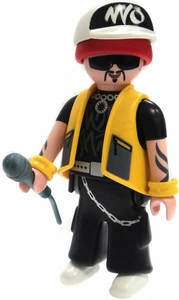 Playmobil Fi?ures Series 4 LOOSE Mini Figure Rap Star