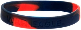 Official NCAA College School Rubber Bracelet AUBURN