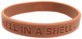 Official NCAA College School Rubber Bracelet MARYLAND Terrapins [Tan]