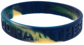 Official NCAA College School Rubber Bracelet PITTSBURGH Panthers [Marble Color] BLOWOUT SALE!