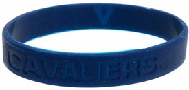 Official NCAA College School Rubber Bracelet VIRGINIA Cavaliers [Blue]