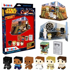 Funko Boxos Papercraft Set Star Wars Cloud City New!