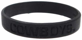 Official NCAA College School Rubber Bracelet OKLAHOMA STATE Cowboys [Black]