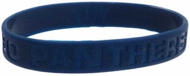 Official NCAA College School Rubber Bracelet PITTSBURGH Panthers [Blue]