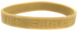 Official NCAA College School Rubber Bracelet BOSTON COLLEGE Eagles [Tan]