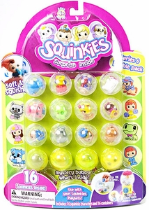 Squinkies Pencil Topper Figure Bubble Pack Series 6 [Includes 16 Squinkies]