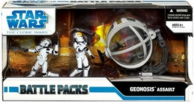 Star Wars 2009 The Clone Wars Action Figure Battle Pack Geonosis Assault