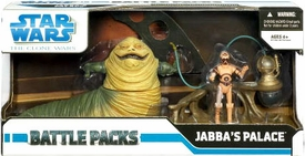 Star Wars 2009 Clone Wars Action Figure Battle Pack Jabba's Palace