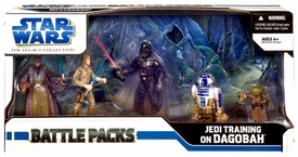 Star Wars Saga 2008 Legacy Collection Exclusive Action Figure Battle Pack Jedi Training on Degobah