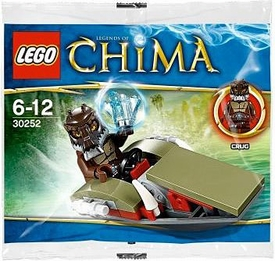 LEGO Legends of Chima Set #30252 Crugs Swamp Jet [Bagged]