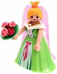 Playmobil Fi?ures Series 5 LOOSE Mini Figure  Princess with Bouquete