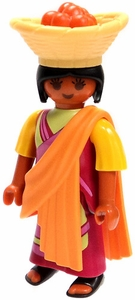 Playmobil Fi?ures Series 5 LOOSE Mini Figure Indian with Basket