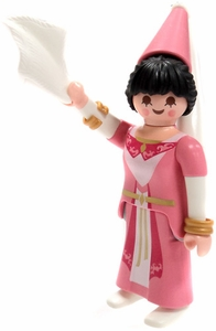 Playmobil Fi?ures Series 5 LOOSE Mini Figure Maiden Fair in Pink