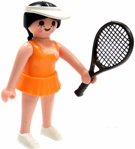Playmobil Fi?ures Series 5 LOOSE Mini Figure Tennis Player