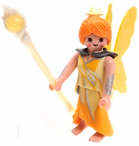 Playmobil Fi?ures Series 5 LOOSE Mini Figure Yellow Fairy