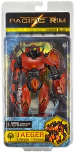 NECA Pacific Rim Series 1 Action Figure Crimson Typhoon [Jaeger]
