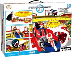 Mario Kart Wii K'NEX Set #38501 Mario's Circuit Ultimate Building Set