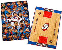 TeenyMates NBA Series 1 Complete 35 Piece Puzzle