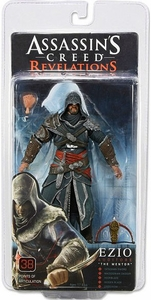 NECA Assassin's Creed Revelations Action Figure Ezio Auditore The Mentor