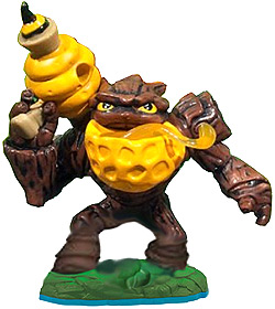 Skylanders Swap Force Loose Figure Bumble Blast